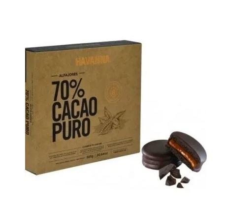 Alfajor havanna 70 cacao