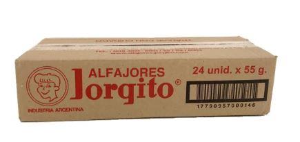 Caja alf Jorgito 24 u negro