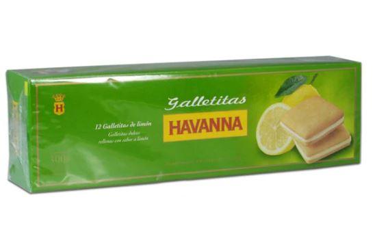 Galletas havanna limon