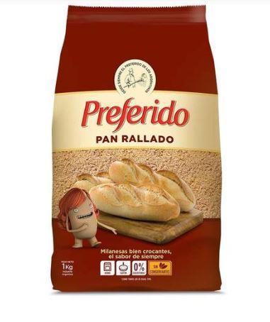 Pan Rallado Preferido 1k