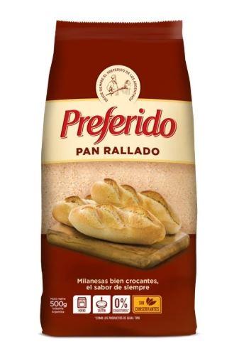 Pan Rallado preferido 500gr