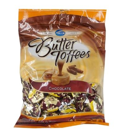 arcor butter choco